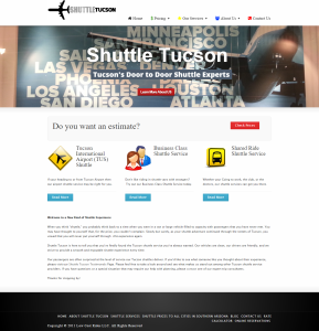Shuttle Tucson Website